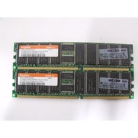 HP 1GB (2x512MB) DDR Memory P/N 261584-041 - HP DL380 G3 Server RAM PC2100R