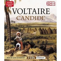 Candide by Voltaire (2012, CD, Unabriidged)
