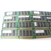 Lot of 16 512MB DDR-400MHz-CL3, PC3200 mixed brand Server Memory