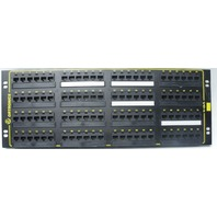 "Ortronics 96-Port CAT 5e Patch Panel OR-851004836 RJ-45 4U 19"" Rack Mount"