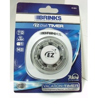 Lot of 2 Brinks EZ-Dial: Vacation Timer (42-1009)