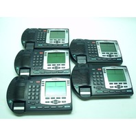 Lot of 5 Nortel Networks NTDU92 IP BUSINESS Phone