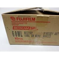QTY:10 Fujifilm BETACAMsp 6OML M321SP NIB