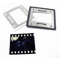 Lot of 80 GEPE Anti-Newton Glass Slide Mounts 24x36mm, 2mm Gray/White