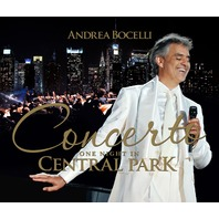 NEW Andrea Bocelli Concerto One Night in Central Park  - 4 Disc Deluxe SEALED