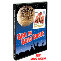 NEW Mystery Science Theater 3000 Girl In Gold Boots DVD SEALED MOVIE