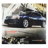 NEW 2013 Dodge Avenger Owner's Information DVD (13D41-426-AA)