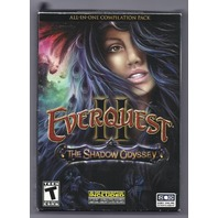 NEW EverQuest II: The Shadow Odyssey PC Video Game (With Collectible Dire Pewter Bear)