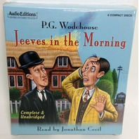 NEW Jeeves in the Morning by P.G. Wodehouse Book on CD (Unabridged, Read by Jonathan Cecil)