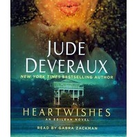 NEW Jude Deveraux Book on CD: HEARTWISHES (Read by Gabra Zackman, 10 Discs)