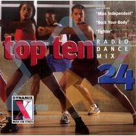 NEW Top Ten Radio Dance Mix CD (Step 24)
