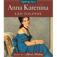 NEW Anna Karenina by Leo Tolstoy Audio Book (Read by Alfred Molina, Abridged)