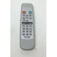 Sharp Projector Remote Control RRMCGA398WJSA (BUTTONS GLOW IN THE DARK)