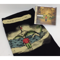 NEW Rufio Fan Pack: CD (Anybody Out There), SMALL T-Shirt, and poster