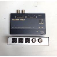 Lot of 2 401C Kramer Tools Y / C to Composite Converter / DA Video to Composite Format Converter