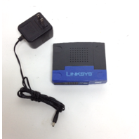 LINKSYS EZXS55W Ethernet Workgroup Switch EtherFast Router Cisco Systems with power supply