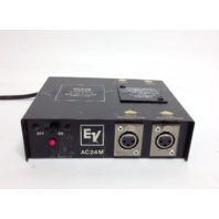 EV AC24M Phantom Power Supply Electro-Voice 24 VDC