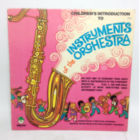 VINTAGE Children's Introduction of Instruments of the Orchestra LP Vinyl Record 8128