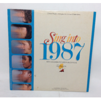 VINTAGE Sing into 1987 Fall Edition LP Choral Music arranged for School Ensembles Vinyl Record