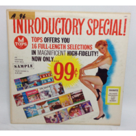 VINTAGE Introductory Special Tops Sampler LP L1666 Vinyl Record