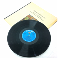 DASALTEWERK Chansons der Trouveres ,songs of the 13th Century Vintage record LP Movie Prop
