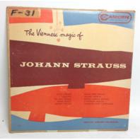 VINTAGE The Viennese magic of JOHANN STRAUSS LP Vinyl Record Camden