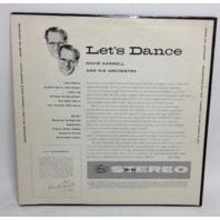 VINTAGE Let's Dance with David Carroll Orchestra LP SR-60001 Vinyl Record