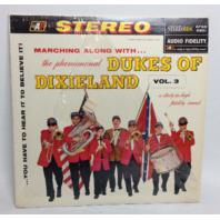 VINTAGE 1958 The Phenomenal Dukes of Dixieland Vol 3 LP Vinyl Record