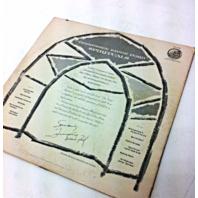 Tennessee Ernie Ford Spirituals vintage Vinyl Record LP Movie Prop