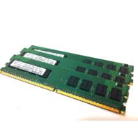 Lot of 3 Samsung 1 GB Desktop Ram Memory M378T2863QZS-CF7 PC2-6400