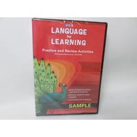 McGraw Hill SRA Language  for Learning Practice and Review Activities CD-ROM