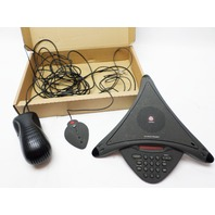 Polycom Sound Station Premier System with extended microphone and power supply