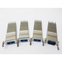 A Lot of 4 FluxLight Xenpak-10GB-LR Transceiver Modules
