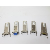 A Lot of 5 Cisco Xenpak-10GB-ZR Transceiver Modules