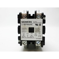 SIEMENS 42CF15AJAHZ  Furnas Definite Purpose Contactor