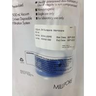 Millipore Stericup 500 mL Vacuum Driven Disposable Filtration System w/ 0.22/um, GV Durapore Membrane