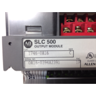 Allen Bradley SLC 500 Output Module 1746-0A16