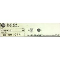 Allen Bradley SLC 500 10 Slot Rack 1746- A10