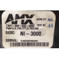 AMX NetLinx Integrated Controller NI-3000 Rack Mountable