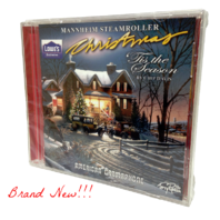 "New!!! MANNHEIM STEAMROLLER Christmas ""Tis The Season"" CD (2012) ***Sealed***"