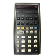 HP-65 Calculator Charger, Case, Quick Ref,  Std  Stat Pac  HP 65 Scientific