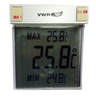 Lot of 8 Digital LCD Thermometer 36934-158 VWR VIR/EPR 215, 220, 221, 222, 224, 228, 229, 230