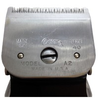 Oster Small Animal Model A2 Electric Clipper Blade SIZE 40