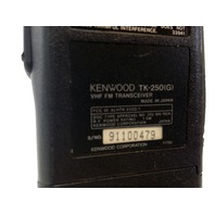 Kenwood TK250(G) VHF FM Transceiver 100 Channel with Rapid Charger KSC-14