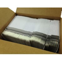 "200 CD/DVD White Cardboard Mailers, Self Seal Mailers with Flap (6"" x 6 3/8"")"