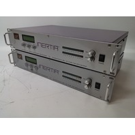 Lot of 2 Laird Inertia Telemedia LTM-6000C Media Converter, Bidirectional DV