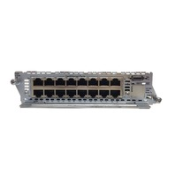 Cisco NM-ESW-16-PWR 16 Port 10/100/1000 Ethernet Network Module Card