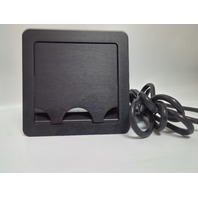 EXTRON CABLE CUBBY 600 UNIT BLACK with US AC Module