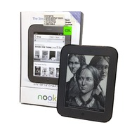 NOOK BNRV300 Simple Touch 2GB Black Wi-Fi e-Reader - MINT Condition
