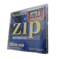 Lot of 6 FujiFilm 100MB Zip Disk For MAC 1-pack Brand New